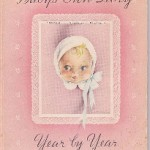 The Baby Book - For Fond Remembrances